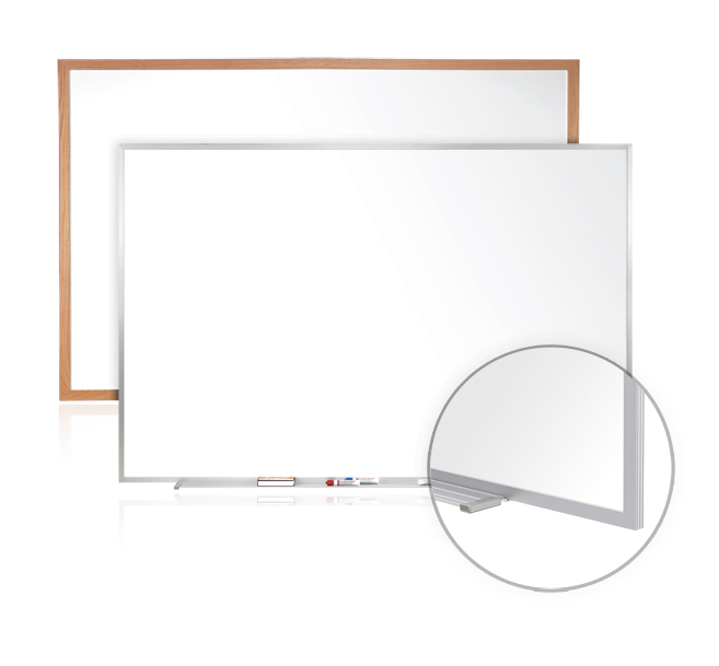 Ghent M1-M1W Porcelain Series Whiteboards