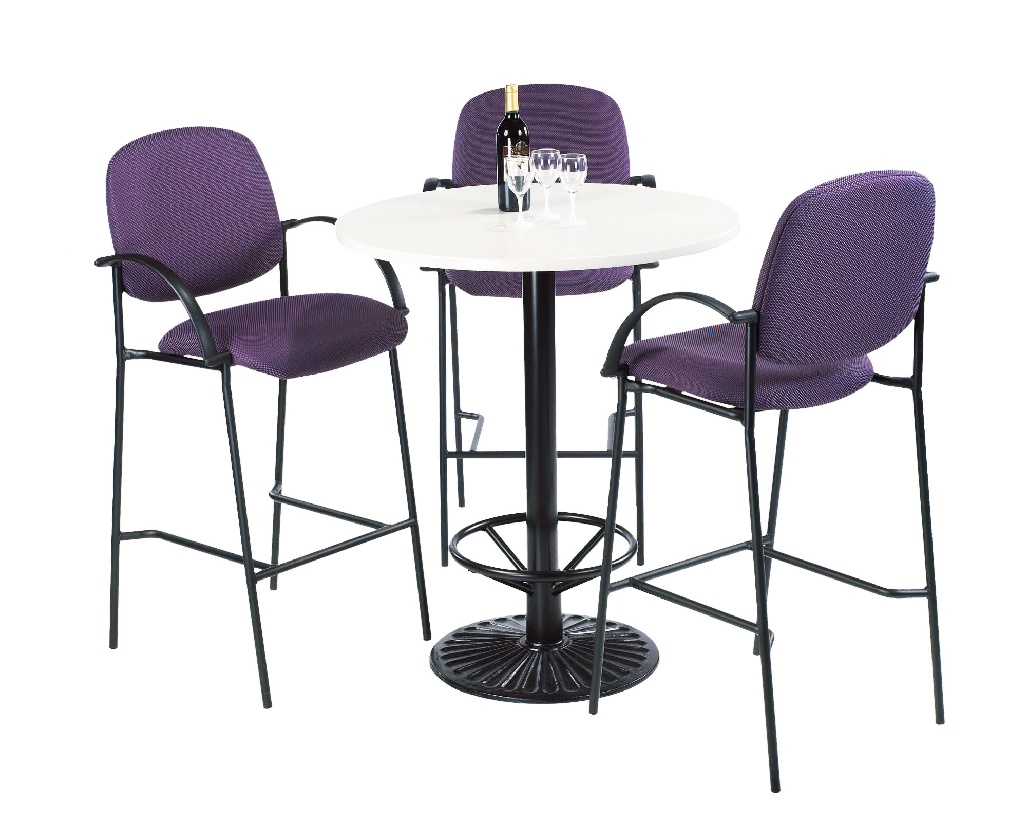 LDF Bistro/Bar height table-#RD 36-1750-42-FR-18