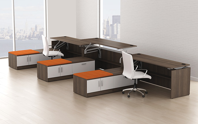OFGO- Swift Lift desking